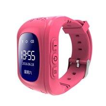 Lnbei Q50 GPS дети Часы Baby Smart часы для детей SOS вызова Расположение Finder Locator трекер анти потерял Мониторы SmartWatch