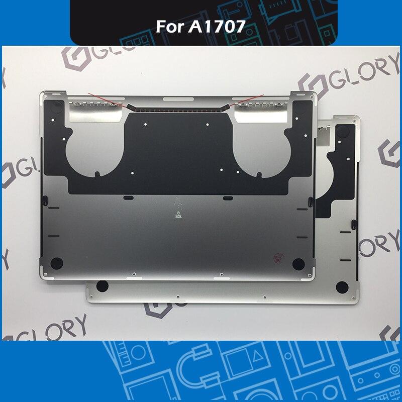 Grijs Zilver A1707 Bottom Case Batterij Cover Voor Macbook Pro Retina 15 inch Bodem shell vervanging 2016 2017 EMC 3072 3162-in Laptoptassen & Koffers van Computer & Kantoor op AliExpress - 11.11_Dubbel 11Vrijgezellendag 1