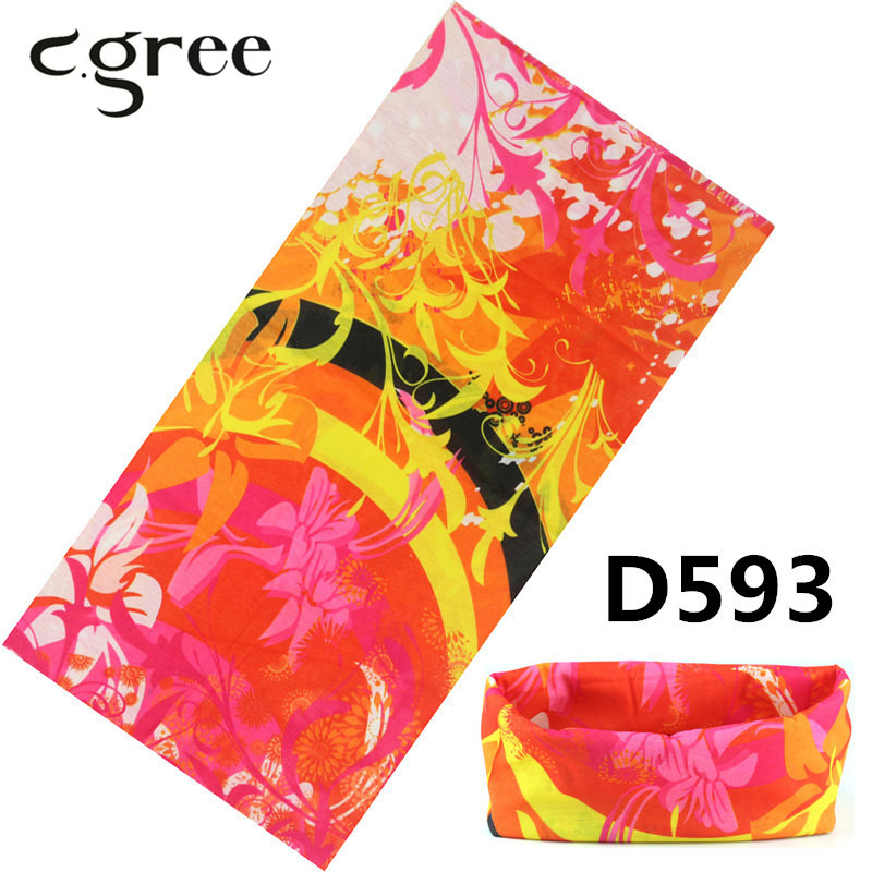Sporting C.gree 2017 Sport Bandana Cycling 100% Polyester 25*48cm Custom Running Headbands Seamless Tubular Tube Bike Half Face Ski Mask To Clear Out Annoyance And Quench Thirst Men's Scarves