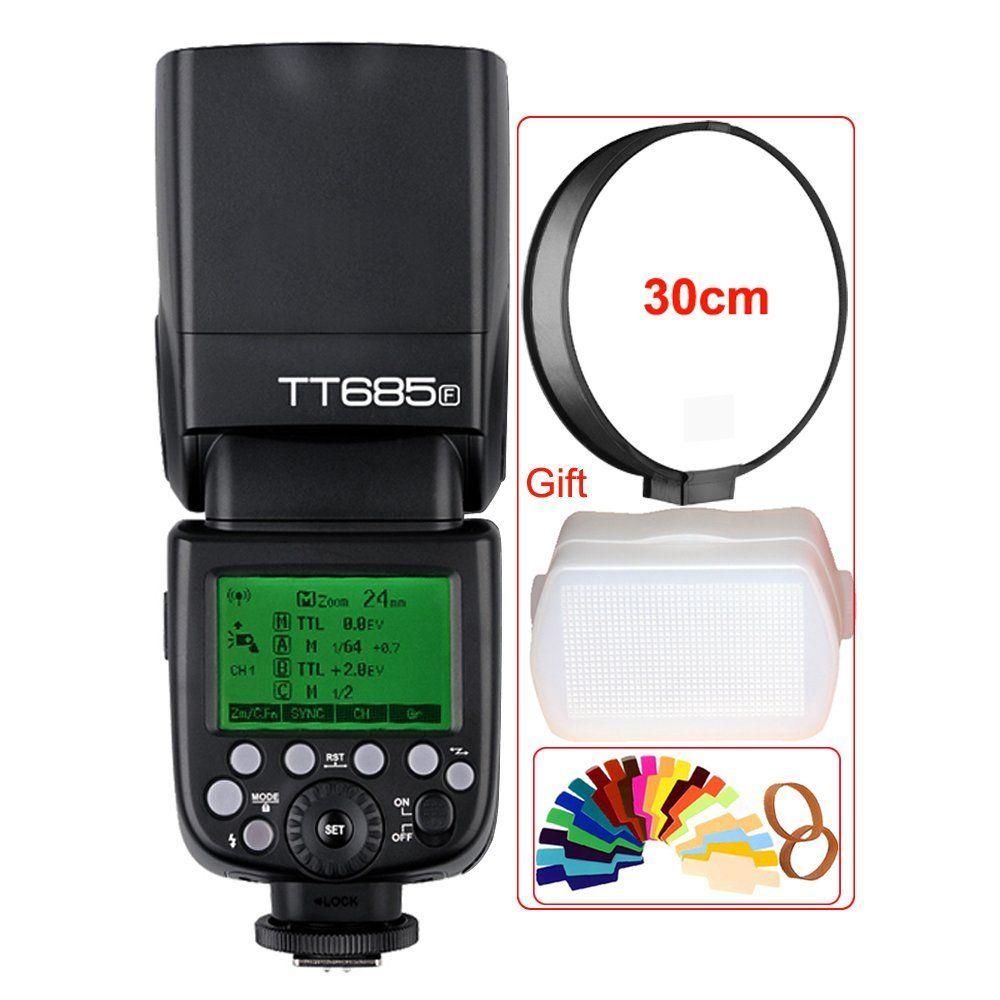 <font><b>Godox</b></font> GN60 tt685f 2.4 г HSS TTL 1/8000 s Вспышка Speedlite + x1t-f триггер trasmettitore комплект для Fujifilm беззеркальных Цифровые камеры