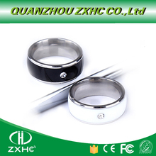 New ring Titanium Material White or Black Waterproof Intelligent Magic Smart NFC Ring for Android NFC Phone for men or