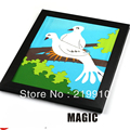 Free shipping Dove Out From Board / Dove Picture To Real Dove  / Stage Magic , Magic Trick