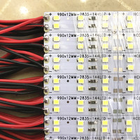 Led Bar Light 2835 72led Pc 144leds M Hard Rigid Led Bar Light Double Line 12V