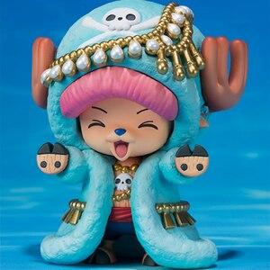Image 4 - Novo uma peça figuras de ação anime bonito tony tony chopper renas ornamentos presente boneca brinquedos modelos coleção pvc estatueta wx262