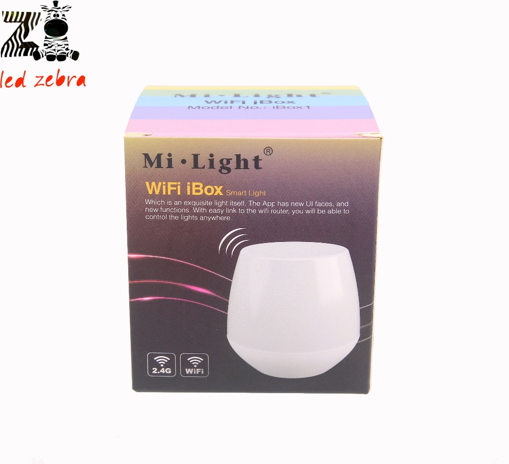 Mi.Light 2.4G WIFI Ibox Led Controller (Night Light) Wireless Controlled By APP IOS Android Suitible For All 2.4GHz Series DC 5V 2ch dc 5v wifi wireless smart switch module controlled by app on android ios for home automation light appliance garage door