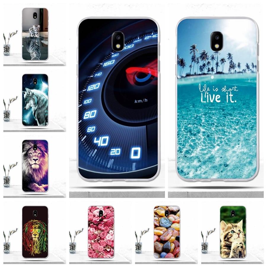 Galleria fotografica For Samsung Galaxy J5 2017 Case Silicon Soft Cover for Samsung Galaxy J5 2017 Cover for Samsung J5 Pro 2017 J530 J530F 5.2