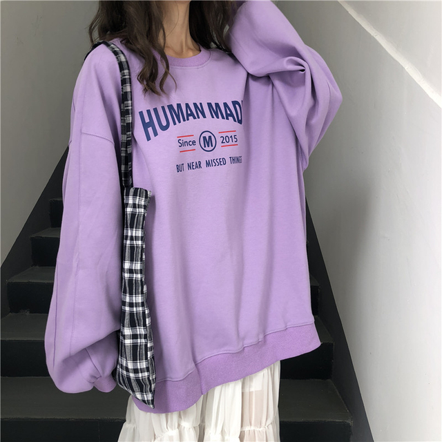 2018 Autumn Harajuku Fashion Black Female T Shirts Japanese Gothic Casual Tops Street Wear Oversized Knitted Women Slim tshirt