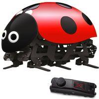 Diy rc الخنفساء روبوت 2.4 جيجا هرتز rc سرعة نقل مرحبا التكنولوجيا علة لعب قابلة التعليم لعب لل صبي أطفال الأطفال عيد هدية
