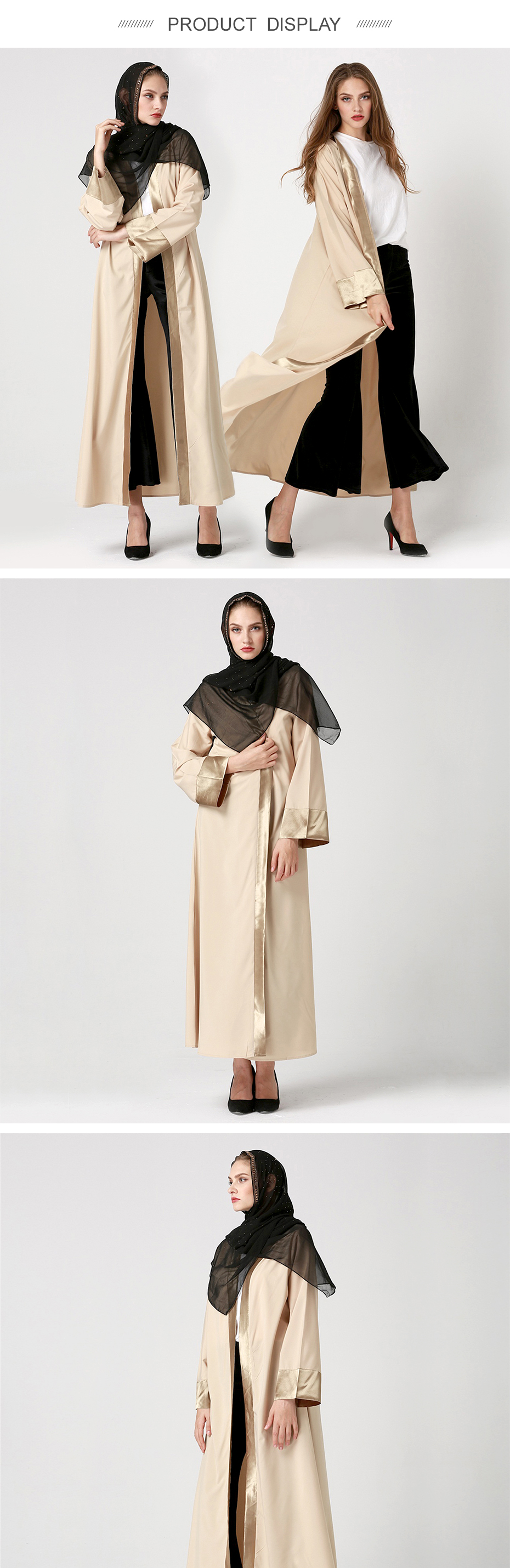 Women new adult casual robe