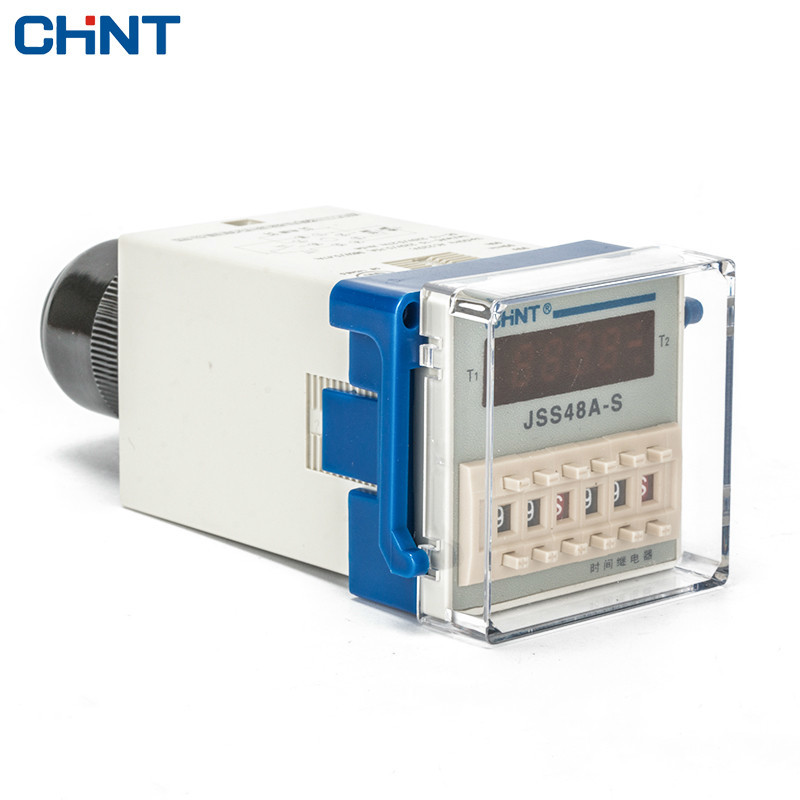 CHINT Number Show Loop Time Relay 220v JSS48A-S Loop Control Time Relay hhs6a correct time countdown intelligence number show time relay bring power failure memory ac220v