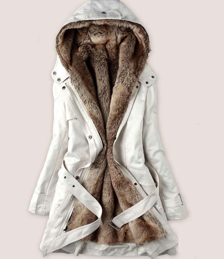 Пролет и зима разстроен дамски вълнен - Дамски дрехи - Снимка 2