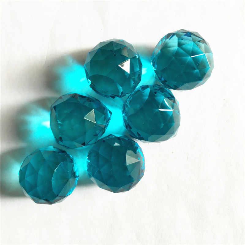 Блестящие 65 шт./лот 20 мм стразы цвета Аквамарин люстры шары в одно отверстие Бесплатная Доставка, свадебные и шаровые люстры лампы-шары