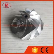 GT15-25 обратный 49,60/63,00 мм 10 + 0 лопастей 824678-0001 заготовка/Фрезерование/Алюминиевое 2024 колесо компрессора для 834142-5005
