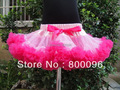 Wholesale Girls Skirt with Pink Bow baby Pettiskirts of Cute Princess Children Tutu skirts  PETS-058