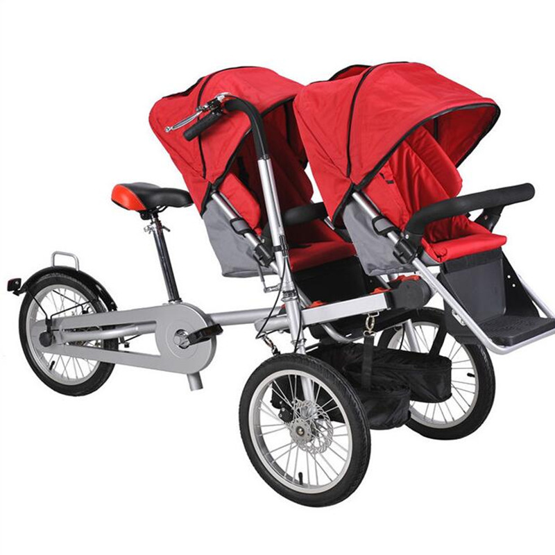 16 inch Brand New Kids Bicycle font b Stroller b font Aluminum Alloy Mother Baby font