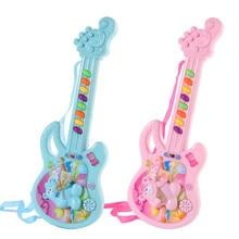 Brinquedo da guitarra elétrica jogo musical para o miúdo menino menina criança aprendizagem elétron brinquedo