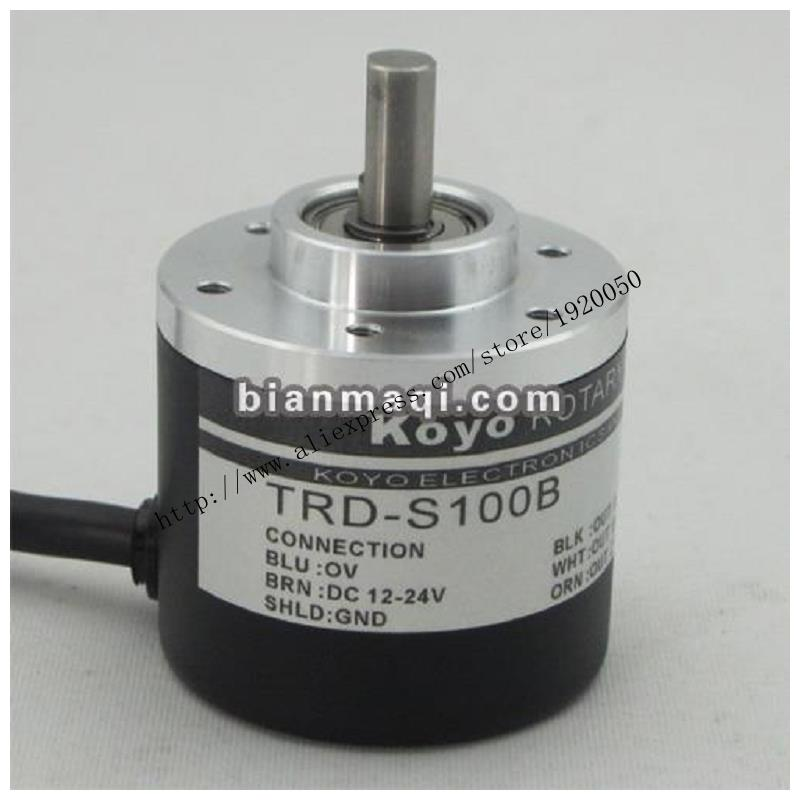 все цены на Hot  Koyo KOYO TRD-S100B rotary encoder / 100P / R  / shaft diameter 6mm онлайн