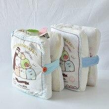 Kawaii Plush Pillow Japan Game Anime Sumikko Gurashi  San-x Creative Corner of Biological Book Open Sofa Cushion  Small Animals