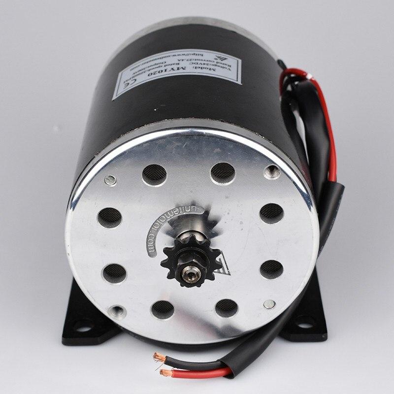500 watt 24 v 36 v 48VDC Elektrische Roller Brushed Speed Motor 2500 rpm 1.9N.m Elektrische Fahrrad Dreirad Motorrad Motor teile MY1020 - 3