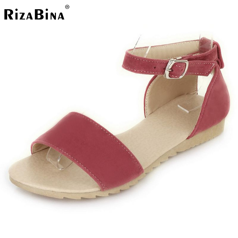 Size 34-43 Women Flats Sandals suede leather Shoes Women Flat Sandal Ladies Leisure Sexy Fashion Beach Shoes Footwear PA00231 women flat sandals fashion ladies pointed toe flats shoes womens high quality ankle strap shoes leisure shoes size 34 43 pa00290