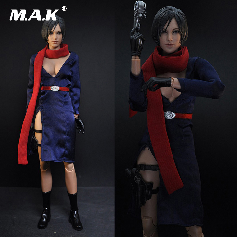 1/6 Scale Female Clothes Resident Evil 5 Aida Wang Kara Garment Set Model clothes for 12 inches Action Figure resident evil 5 русский язык sony playstation 4 ролевая боевик