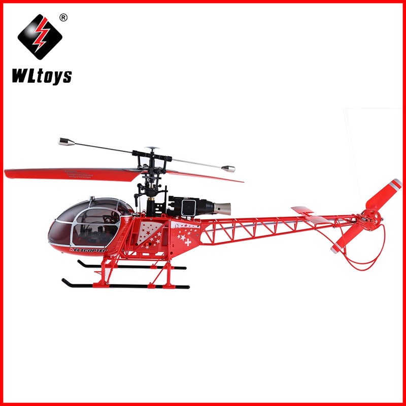 WLtoys V915 Lama RC Drone 4CH 6 Axis Gyro Single Propeller High Simulation Remote Control Helicopter With Flashing Lights Toys wltoys q222 quadrocopter 2 4g 4ch 6 axis 3d headless mode aircraft drone radio control helicopter rc dron vs x5sw