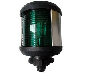 Image 3 - Faro LED de 12V para barco, luz de navegación para barco marino, luz roja y verde, luz de estribor, luz blanca para cabeza de máscara, lámpara de señal de vela