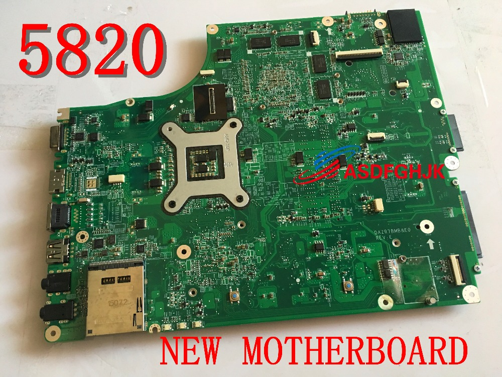 Original Free Shipping! The laptop motherboard for <font><b>ACER</b></font> 5820 T <font><b>5820TG</b></font> 5820 dazr7bmb8e0 HM55 With graphic HD5650 Full TESED OK image
