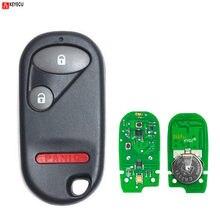 Брелок Keyecu для Honda Civic Pilot 2003 2004 2005, пульт дистанционного управления, 433 МГц, NHVWB1U523, NHVWB1U521