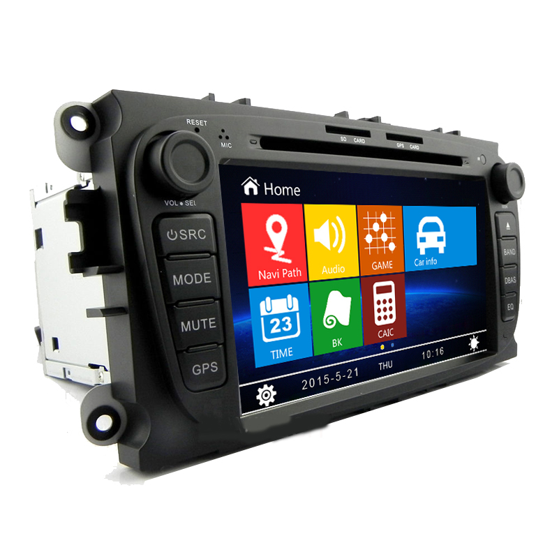 free shipping 7 inch car dvd player gps navigation system. Black Bedroom Furniture Sets. Home Design Ideas
