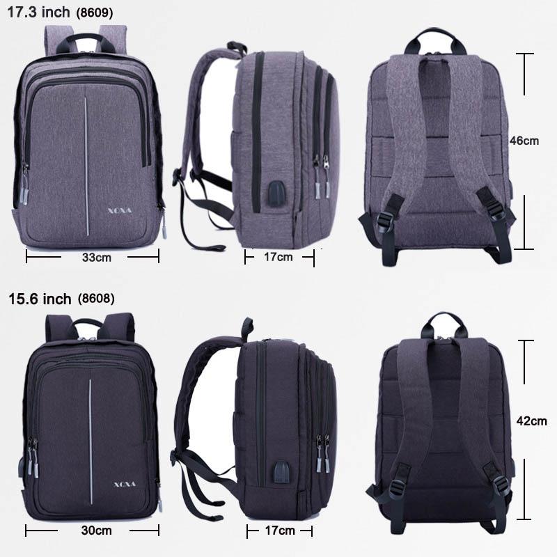 Portable À Pouce Grande 2017 Hommes Toile 6 Dos Multifonction Black Capacité gray 15 Mode De D'ordinateur Hot D'affaires Sac kZPnwON80X