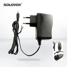 SOLOVOX 12 V/1.5A Avrupa Standart Güç Adaptörü için SOLOVOX OPENBOX V8S V9S V6 F5S Set top Box orijinal Güç