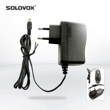 SOLOVOX 12 v/1.5A Europese Standaard Power Adapter voor SOLOVOX OPENBOX V8S V9S V6 F5S Set-top Box originele Power(China)