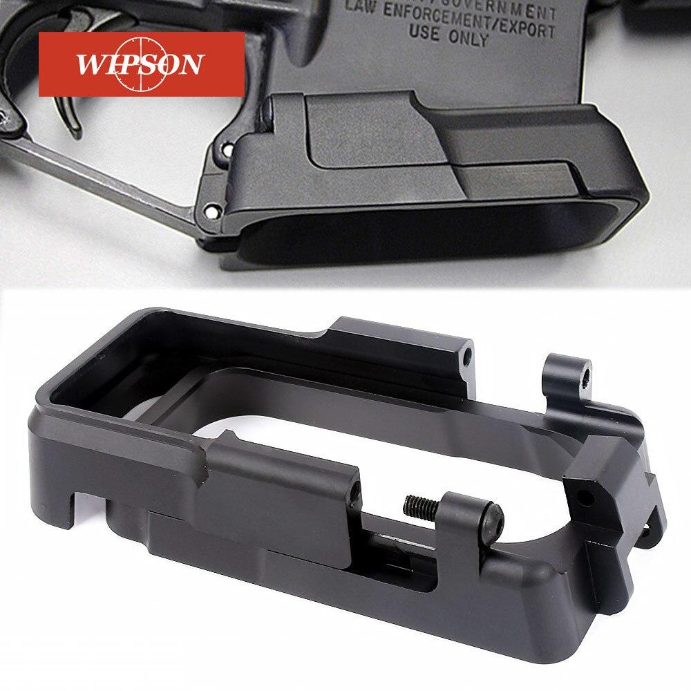 WIPSON тактический охотничье ружье аксессуары ALG 6-вторых Крепление для Пистолетов Glock 17 и 18С с magwell вспыхнула для 20 мм picatinny