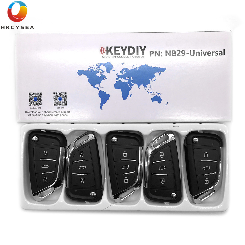 HKCYSEA 5PCS LOT NB29 3 Button NB Series Universal Multi functional Remote Control for KD900 URG200