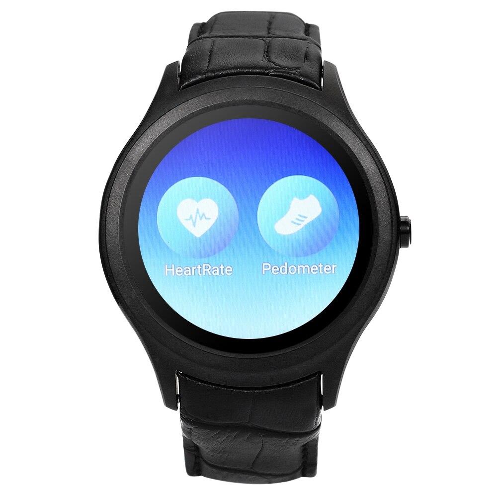 """imágenes para NO. 1 D5 + Android 5.1 1.3 """"mtk6580 quad core 3g teléfono 1 gb 8 gb inteligente de smart watch reloj de la tarjeta sim gps wifi monitor de ritmo cardíaco"""