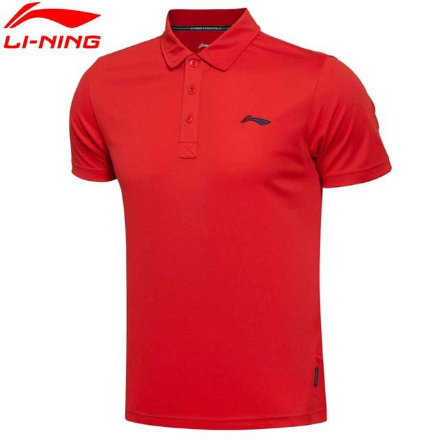 Li-Ning Men's LiNing Sports T-Shirts Breathable Trainning & Exercise Summer T-shirts For Males APLL027 MTS1832