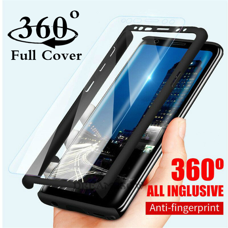 360 Full Cover Case For Samsung A70 A60 A50 A40 A30 A20 J4 J6 Plus J8 A7 A9 2018 Galaxy J3 J5 J7 2016 A3 A5 A7 2017 Case Coques