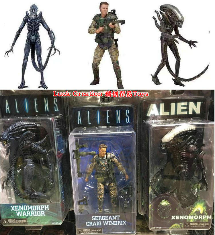 Model toys heteromorphic war predator doll second wave <font><b>1979</b></font> transparent skull blue <font><b>alien</b></font> model image