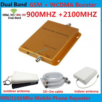 Dual band 3G GSM Repeater 2G signal booster lte signal amplifier repetidor cell phone signal booster 3g booster tube amplifier