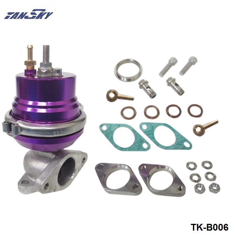 Purple Adjustable 38mm External Turbo V Band V Band Wastegate Turbocharge Flange TK B006