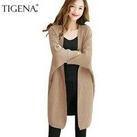 Refeeldeer Plus Size Loose Cardigan Women 2017 Autumn Winter Long Cardigan Female Batwing Sleeve Women Knitted