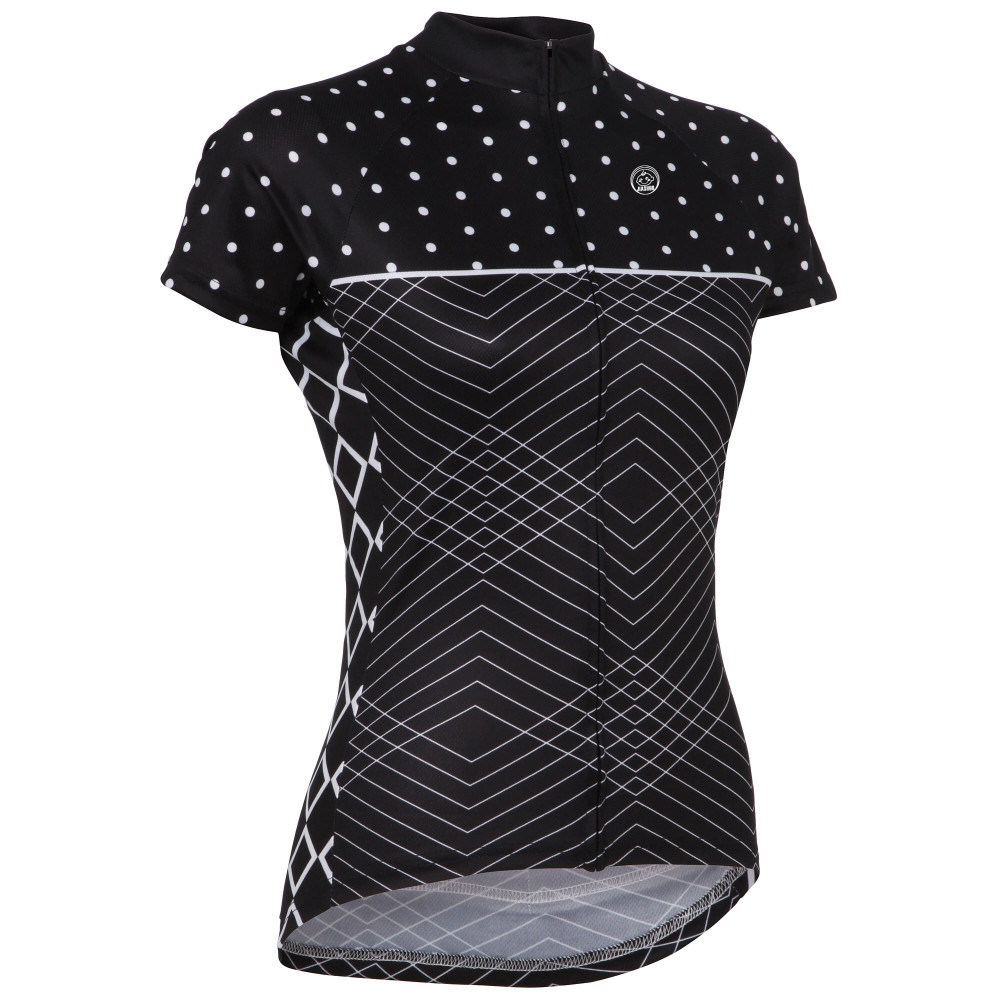 2018 Venta caliente ciclismo jersey mujer corto Bicicleta de montaña ropa MTB Santic Maillot Bicicleta ropa ciclismo verano negro Nuevo estilo