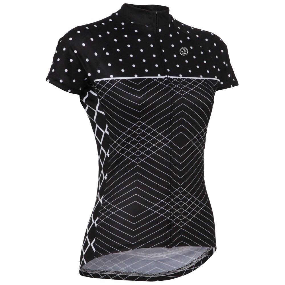2018 heißer verkauf jersey frauen Short Mountain Bike tragen MTB Santic Maillot Bicicleta ropa ciclismo Sommer Schwarz Neuen stil