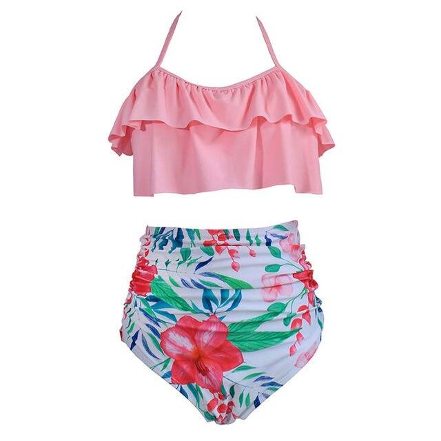 Plus Size Fashion Swimsuit 2