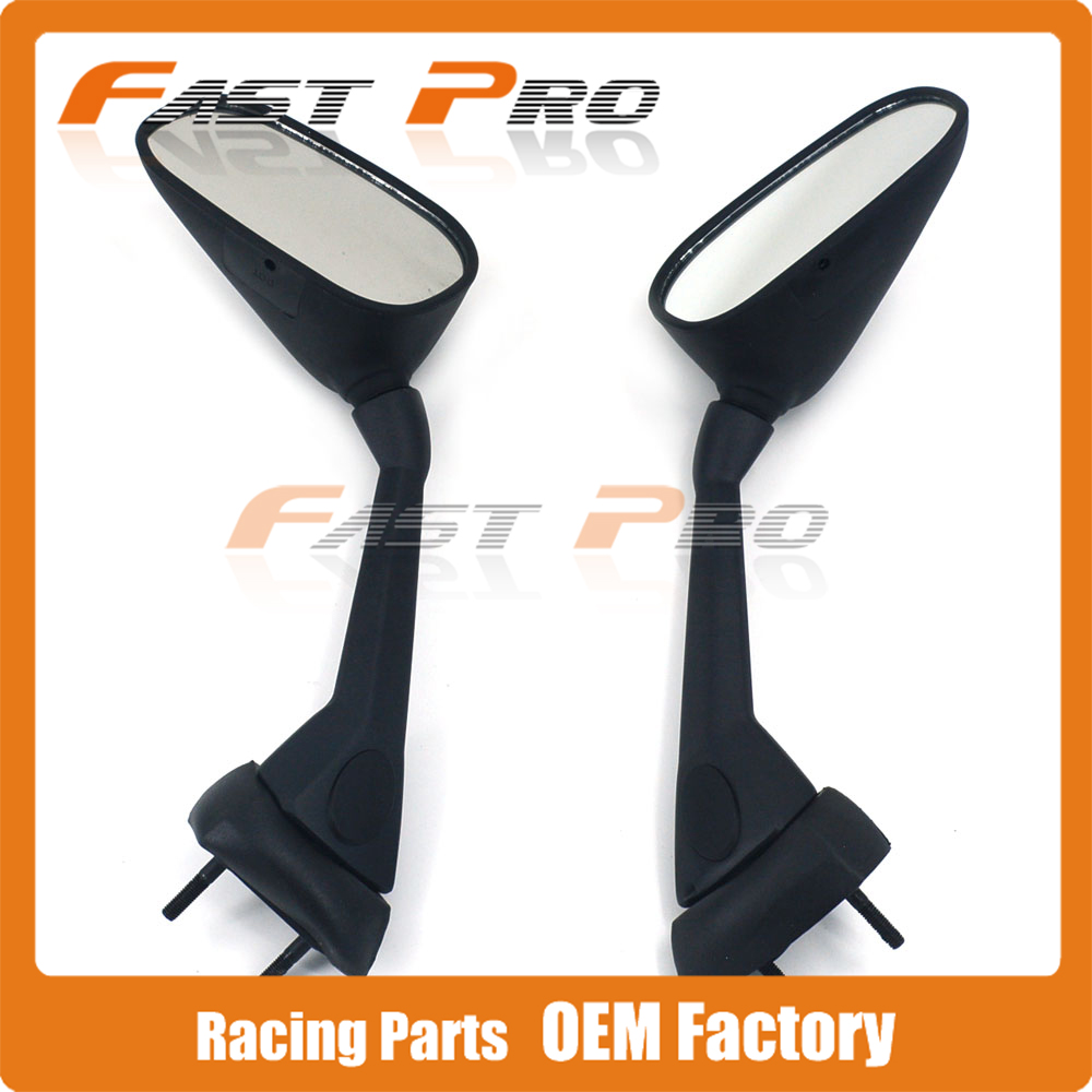 Motorcycle Side Rearview Rear-view Mirror For YAMAHA FZ1 FAZER 2007-2013 2008 2009 2010 2011 2012 2013 motorcycle steering damper mounting bracket kit for yamaha fz1 fazer 2006 2015 2007 2008 2009 2010 2011 2012 2013 2014
