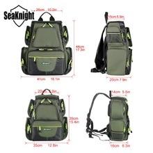 SeaKnight SK004 Fishing Bag Large Capacity 25L 7.5L Multifunctional Bag Backpack Outdoor Fishing Tackle Bag 41*44*20cm