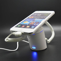 10pcs Promotion Cell Phone Retail Anti Theft Alarm System Mobile Smartphone Security Display Alarm Holder Charge