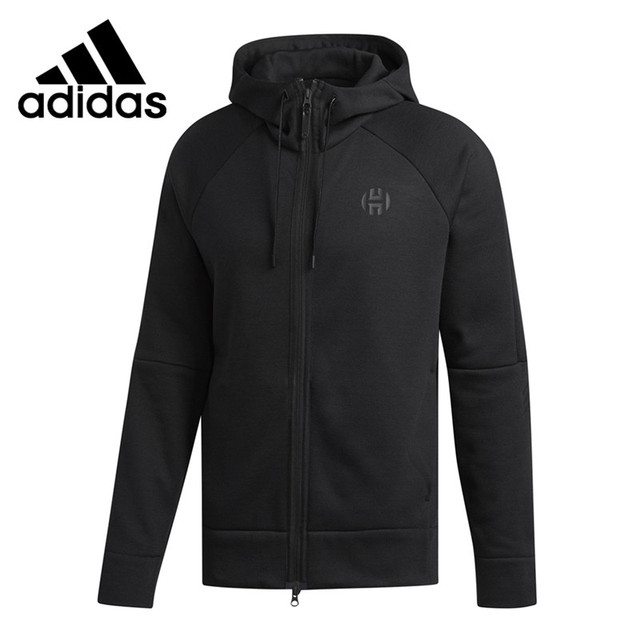 outlet store f173e 5fde5 Original New Arrival 2018 Adidas HRDN CML SHTER Men s knitted Hooded Running  Jacket Sportswear