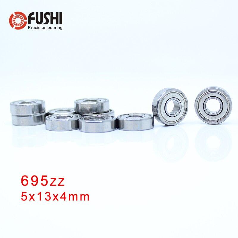 695ZZ ABEC 5 100PCS 5x13x4MM Miniature Ball Bearings 619 5ZZ EMQ Z3V3